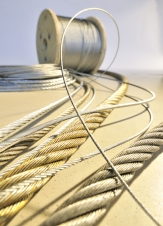 Galvanised steel wire rope