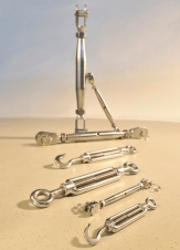 Stainless rigging screws