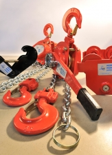 Chain blocks / trolleys / beam clamps
