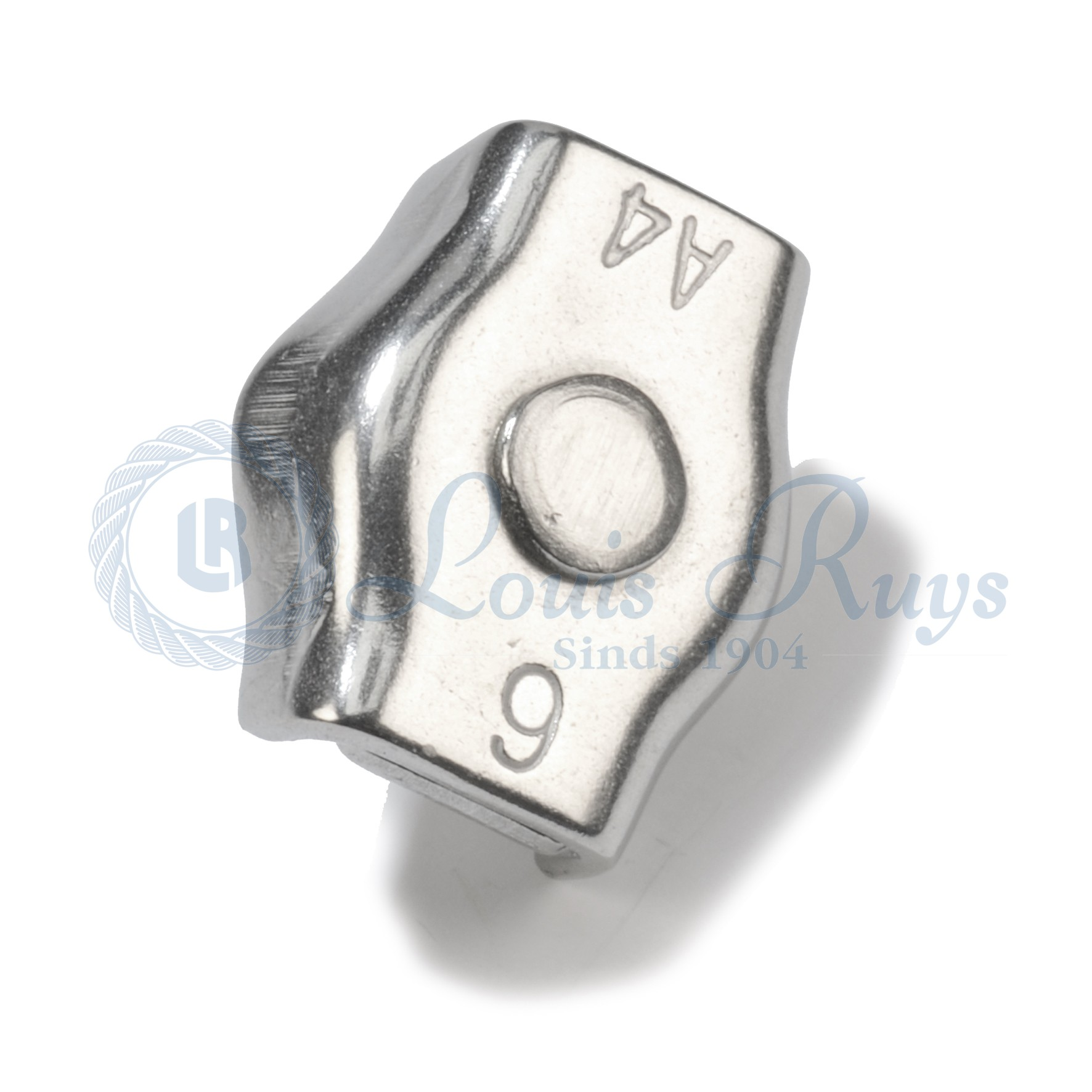 Stainless single wire rope clips - Louis Ruys