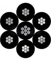 6x7+steel core