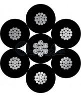 6x19+steel core(7x19)