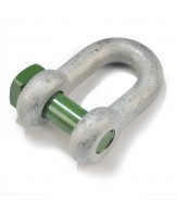 Green Pin trawling dee shackles / square head pin