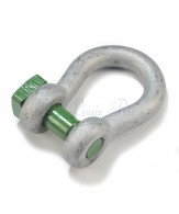Green Pin trawling bow shackles / square head pin
