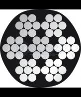 PVC 7x7 stainless