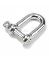Stainless dee shackles