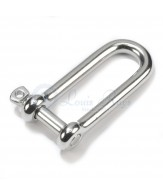 Stainless dee shackles / long
