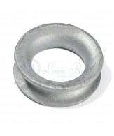 Galvanised thimbles / container type / round