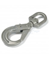 Self-locking hooks / swivel eye G100