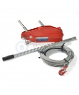Lewis wire rope pulling hoists