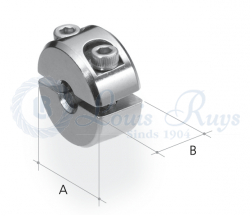 Clamping button / standard duty