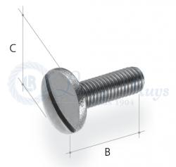 Pan head screws