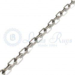 Hot dipped galvanised chain / long link