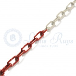 Signal / galvanised coloured chain