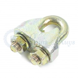 Galvanised wire rope clips DIN 1142