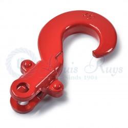 Top hooks for lashing lever blocks